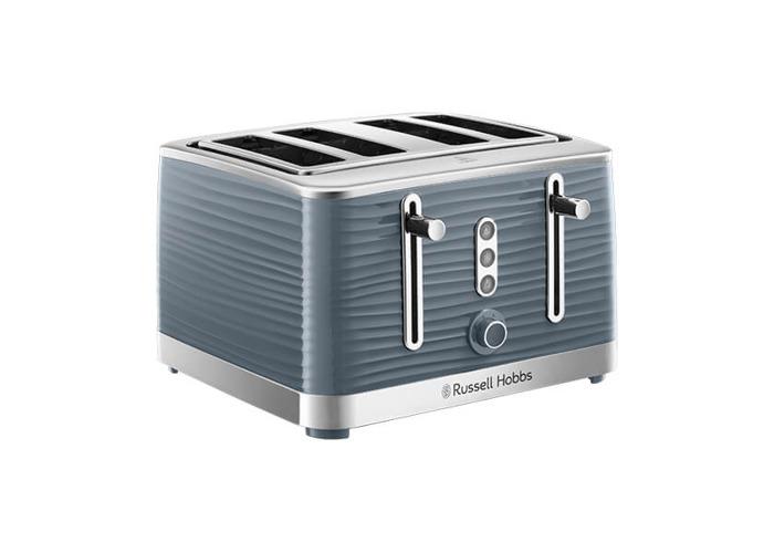Russell Hobbs 4 Slice Inspire Toaster Grey - 1