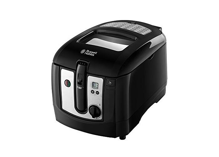Russell Hobbs 4008496936526 RU-24580 Digital Deep Fryer, 2300 W, 3 liters, Black - 1