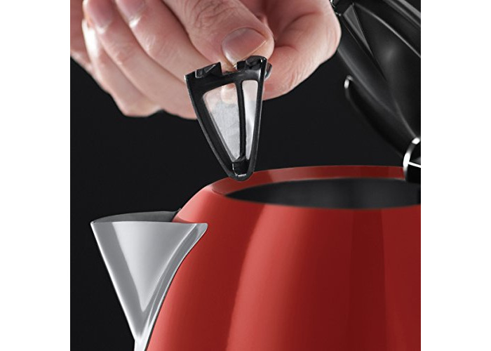 Russell Hobbs Colour Plus Kettle 20412, 3000 W, 1.7 L - Red - 2