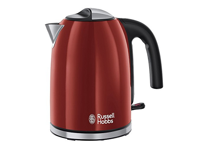 Russell Hobbs Colour Plus Kettle 20412, 3000 W, 1.7 L - Red - 1