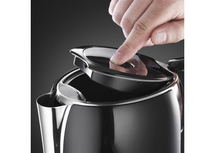 Russell Hobbs Glass Touch Kettle 18365 - Black - 2