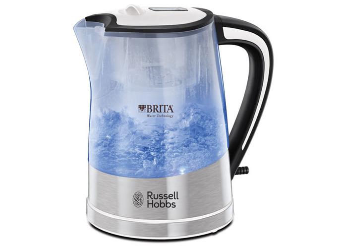 Russell Hobbs Plastic Brita Filter Purity Kettle 22851, 3000 W, 1 L - Transparent - 1
