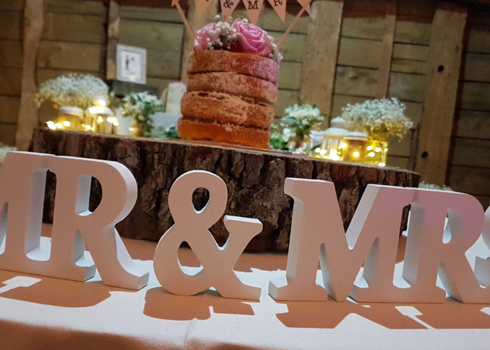 Rustic HIRE ONLY Vintage Barn Theme Wedding Decorations Package