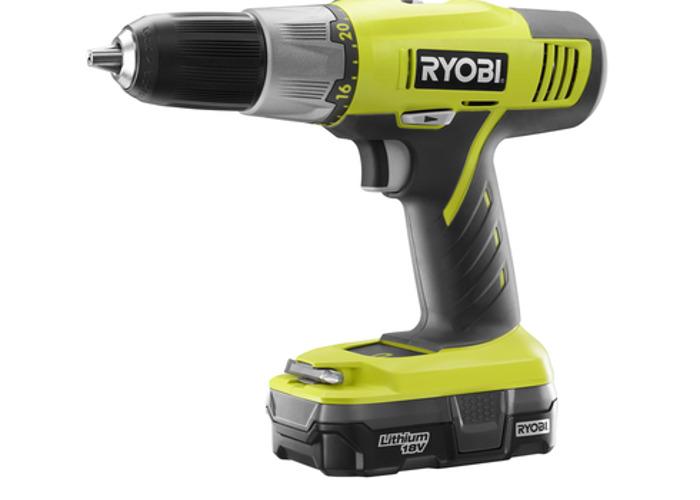 Ryobi Battery Powered Drill  - 1
