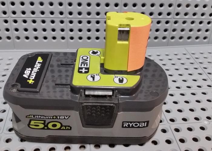 Ryobi One+ 18V 5.0 Battery - 1