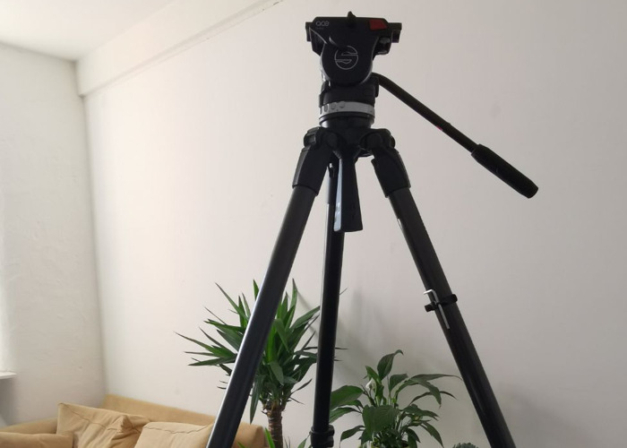 Sachtler Ace Carbon Fibre Tripod System with Video Head - 2
