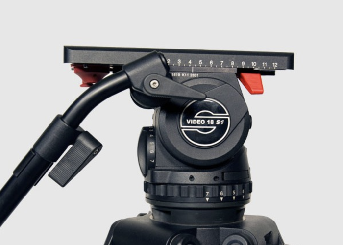 Sachtler Video 18 Tripod - 1