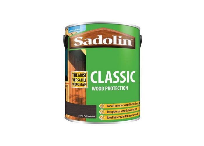 Sadolin 5028477 Classic Wood Protection Dark Palisander 5 Litre - 1