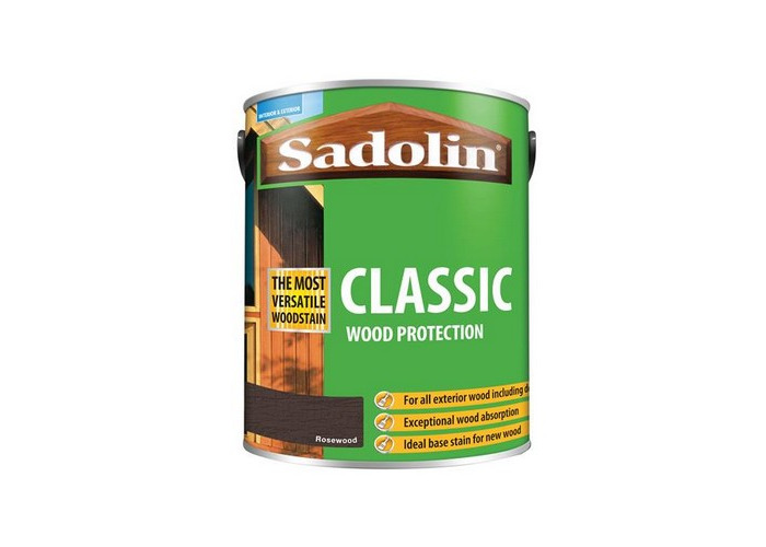 Sadolin 5028489 Classic Wood Protection Rosewood 5 Litre - 1