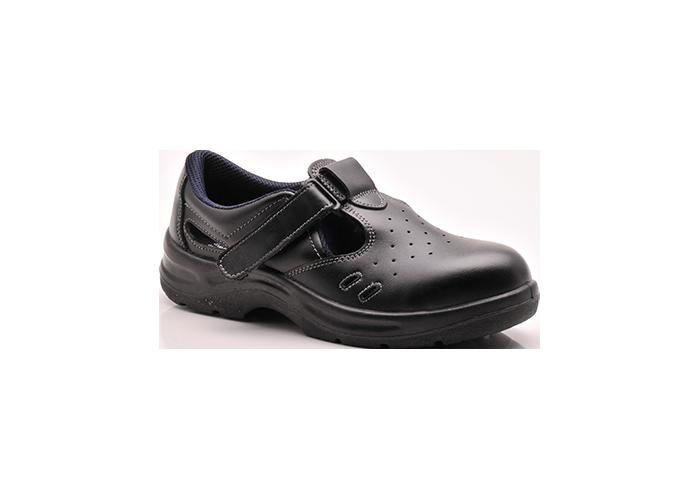 Safety Sandal  46/11 S1  Black  46  R - 1