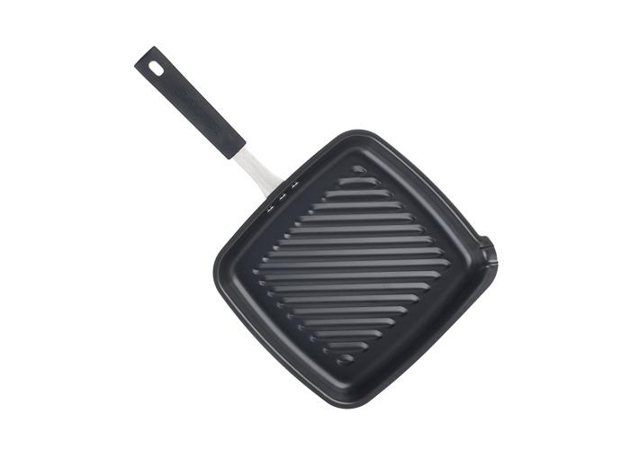 Salter BW05459BS Carbon Steel Pan for Life Griddle Pan, 26 cm, Black - 1