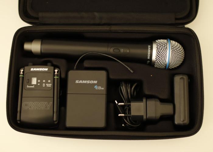 Samson Concert 88 Camera Combo UHF Wireless System - 1