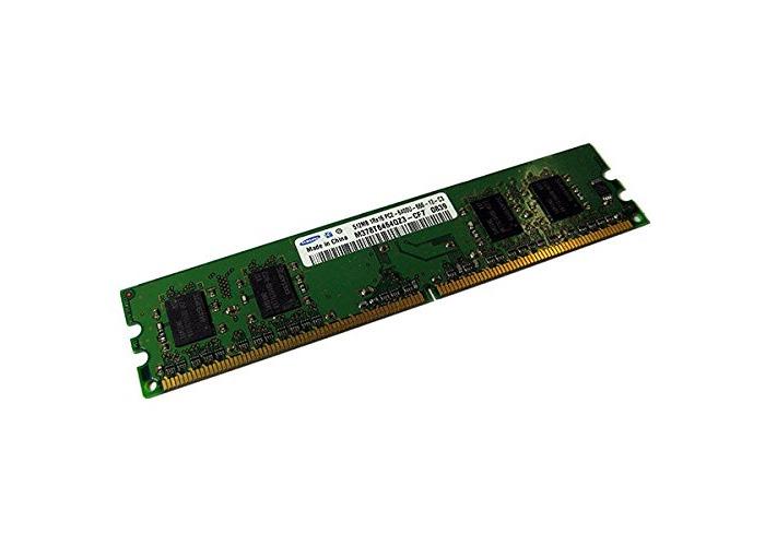 SAMSUNG 512MB Ram Memory DDR2 800Mhz PC 2-6400U M378T6464QZ3-CF7 CL6 - 1