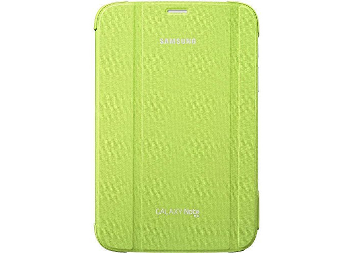 Samsung Book Cover Case for Galaxy Note 8.0 - Lime Green - 1