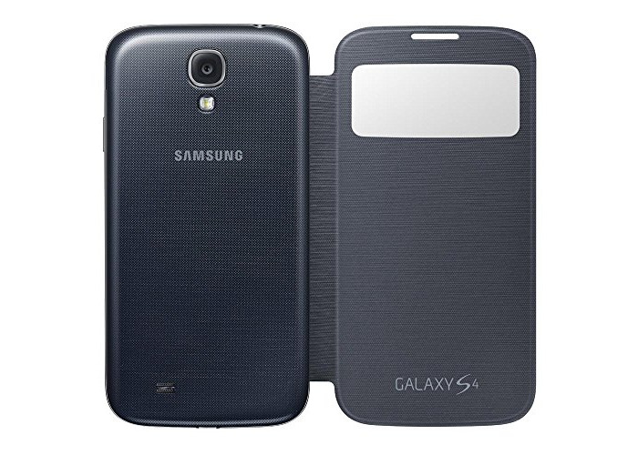 Samsung EF-CI950B S View Case for Galaxy S4 - Black - 2