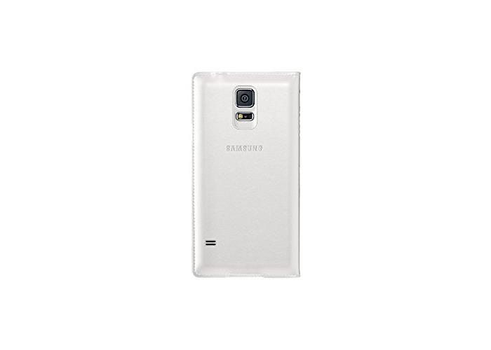 Samsung Flip Wallet Case for Samsung Galaxy S5 / Galaxy S5 Neo - White - 2