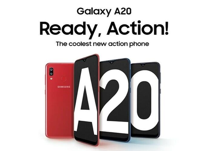 Samsung Galaxy A20 32GB 4G LTE DualSim Black Unlocked - 1