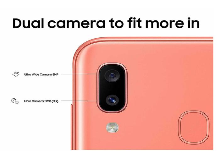"""Samsung Galaxy A20e 5.8"""" 2019 32GB 4G LTE Dual Sim Coral  - 2"""