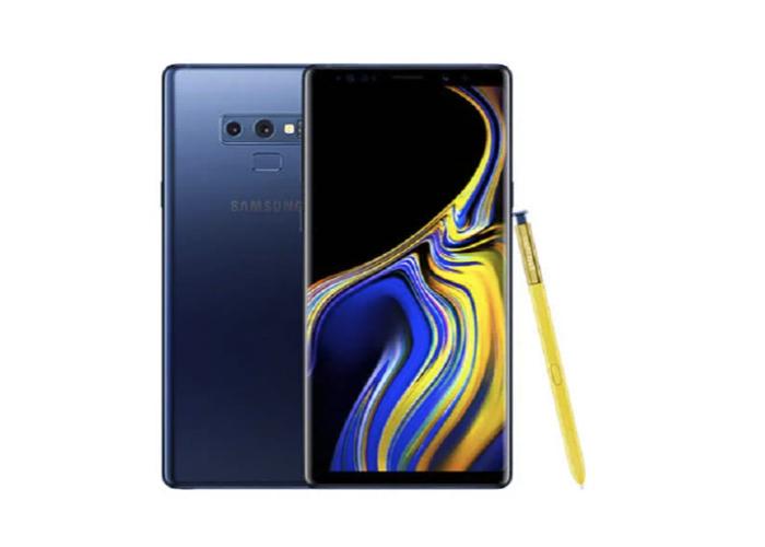 Samsung Galaxy Note 9 N960FD 8GB Ram 512GB Rom Dual Sim - Ocean Blue - 1