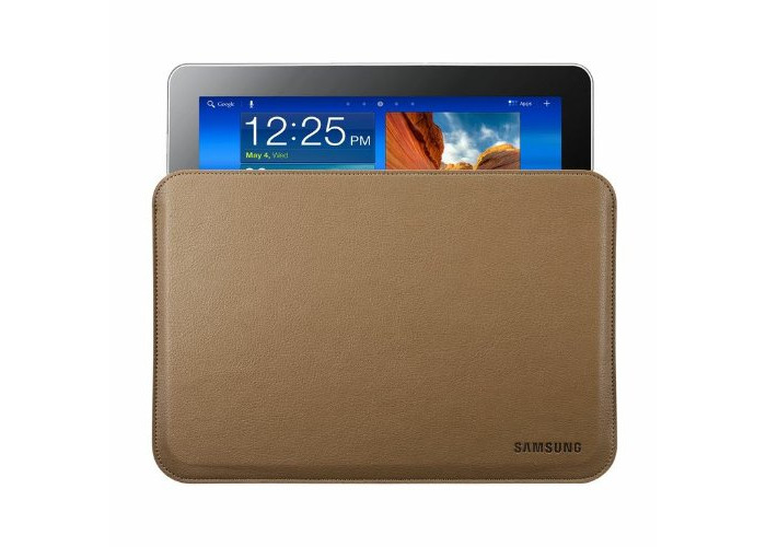 Samsung Leather Pouch for 10.1 inch Galaxy Note - Brown - 1