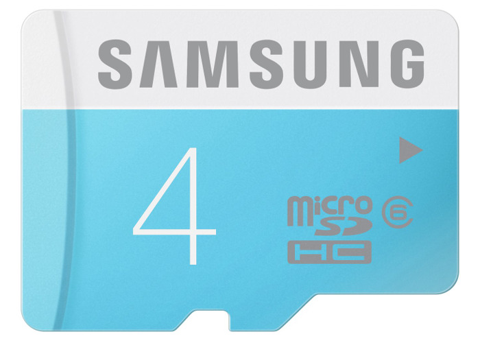 Samsung Memory 4GB Standard MicroSDHC Class 6 Memory Card without Adapter - 2