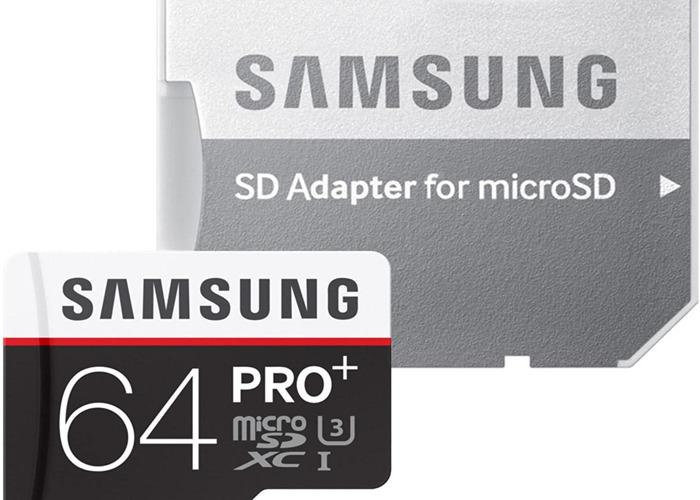 Samsung Memory 64GB Pro Plus MicroSDXC UHS-I Grade U3 Class  - 1