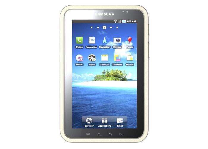 Samsung Original T21-1229 Galaxy Tab Gel/Silicon Case - White - 1