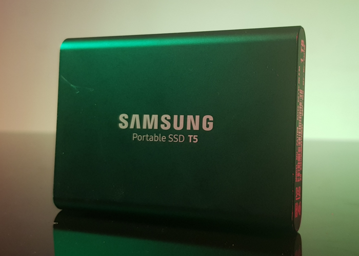 Samsung T5 1 TB USB 3.1 Gen 2 External Solid State Drive - 1