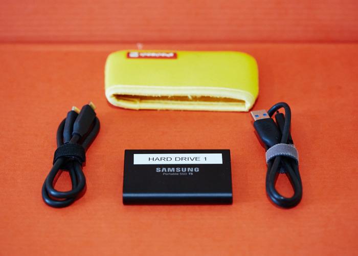 Samsung T5 2TB SSD suitable Blackmagic Camera - 2