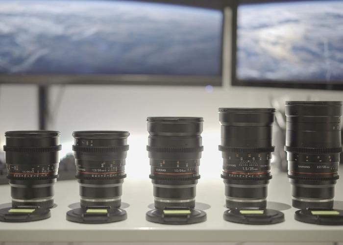Samyang E-Mount Cinema Prime Lenses VDSLR Kit  (14,24,35,50,85,135) - 2