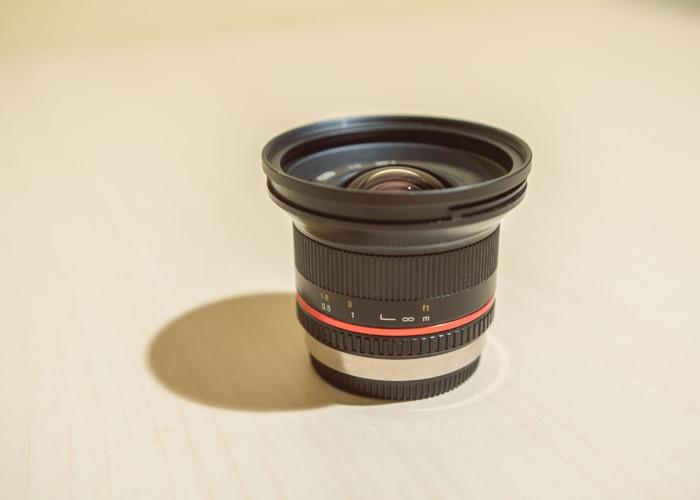 Samyang 12mm f2 for MFT - 1
