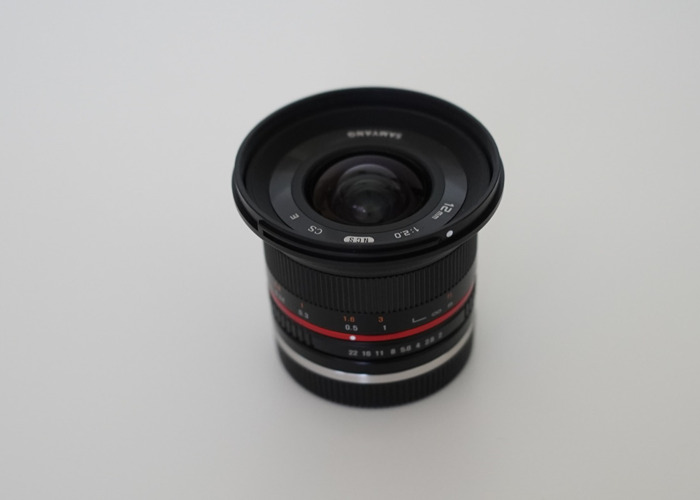 Samyang 12mm F2 Sony E-mount Wide Angle Lens APS-C  - 1