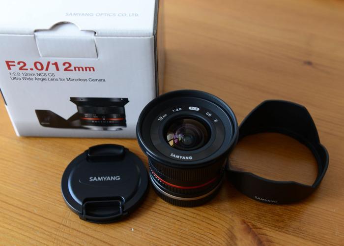 Samyang 12mm F2.0 Sony E-Mount Lens NCS CS Ultra Wide Angle - 2