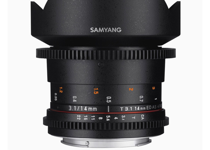 Samyang 14 mm T 3.1 Canon Fit - 1