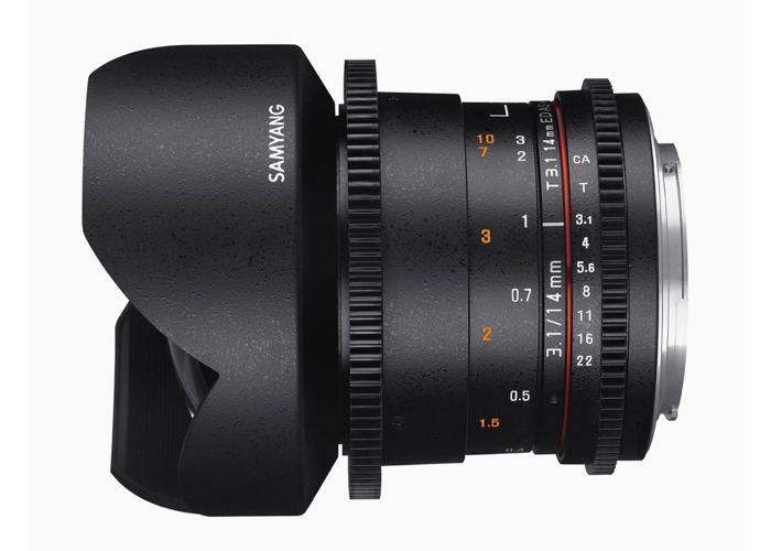 Samyang 14 mm T 3.1 Canon Fit - 2