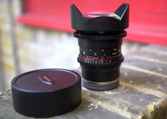 Samyang 14mm T 3.1 Cine E-mount Lens - 1