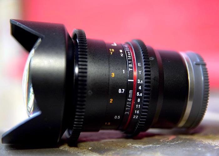 Samyang 14mm T 3.1 Cine E-mount Lens - 2