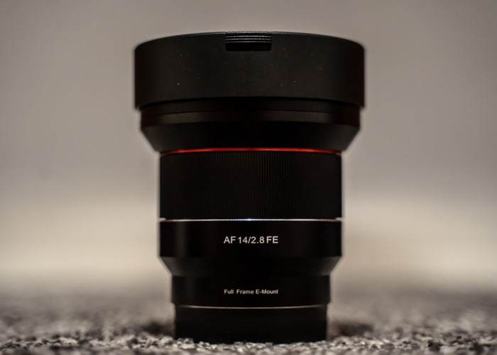 Rent Samyang 14mm f2 8 AF - Sony E Mount in Quedgeley