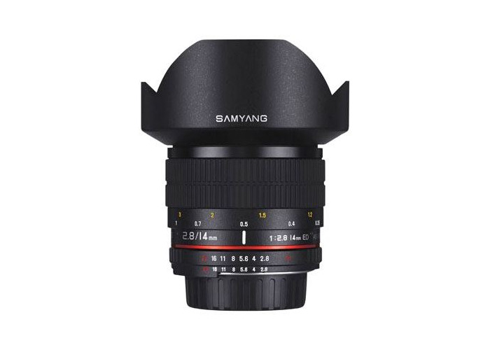 Samyang 14mm f2.8 ED AS IF UMC Lens - Nikon AE Fit - 1