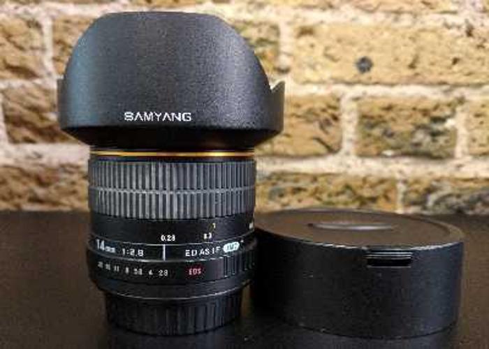 Samyang 14mm f2.8 (Ef mount) - 1