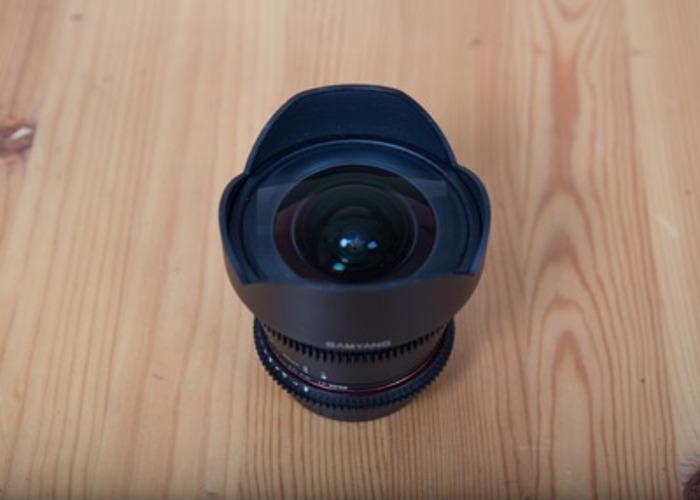 Samyang 14mm T3.1 ED AS IF UMC II VDSLR Lens - Canon Fit - 2