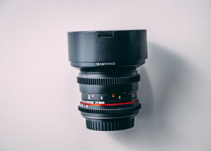 Samyang 14mm T3.1 f2.8 Cine Lens Canon EF-Mount  - 1