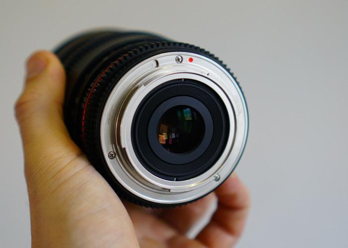 Samyang 16mm T2.2 Lens (Canon EF mount) - 2