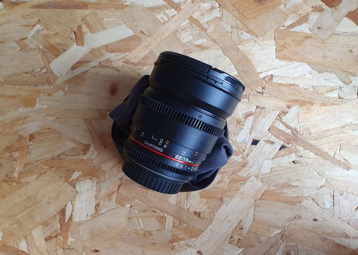 Samyang 16mm T2.2 VDSLR ED AS UMC CS II EF Lens  - 1
