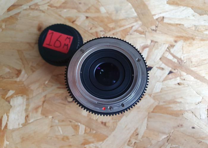 Samyang 16mm T2.2 VDSLR ED AS UMC CS II EF Lens  - 2
