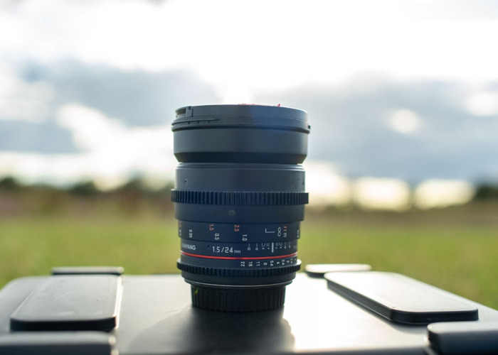 Samyang 24mm t1.5 cine lens - 1