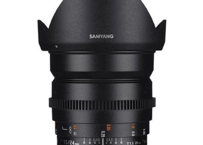 Samyang 24mm T1.5 ED AS IF UMC II Video Lens - Sony E Mount - 1