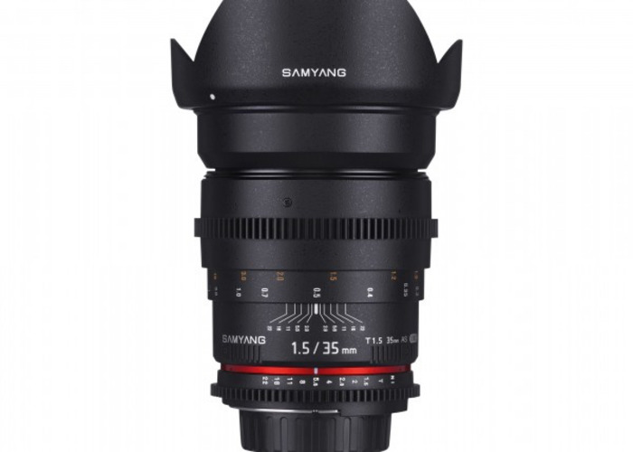 Samyang 35 mm T1.5 Canon Fit - 1