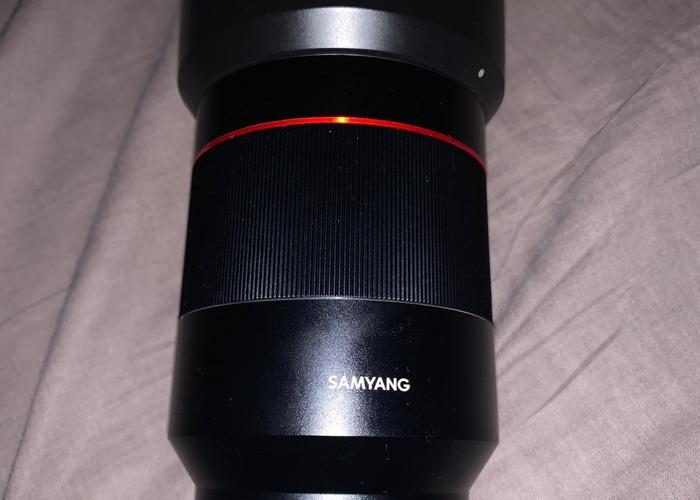 Samyang 35mm 1.4 AF - 1