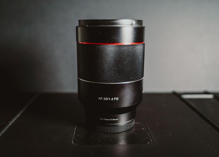 Samyang 35mm 1.4 FE Sony E-Mount - 1